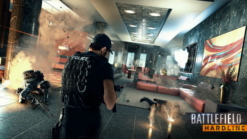 Battlefield Hardline Full HD Wallpaper