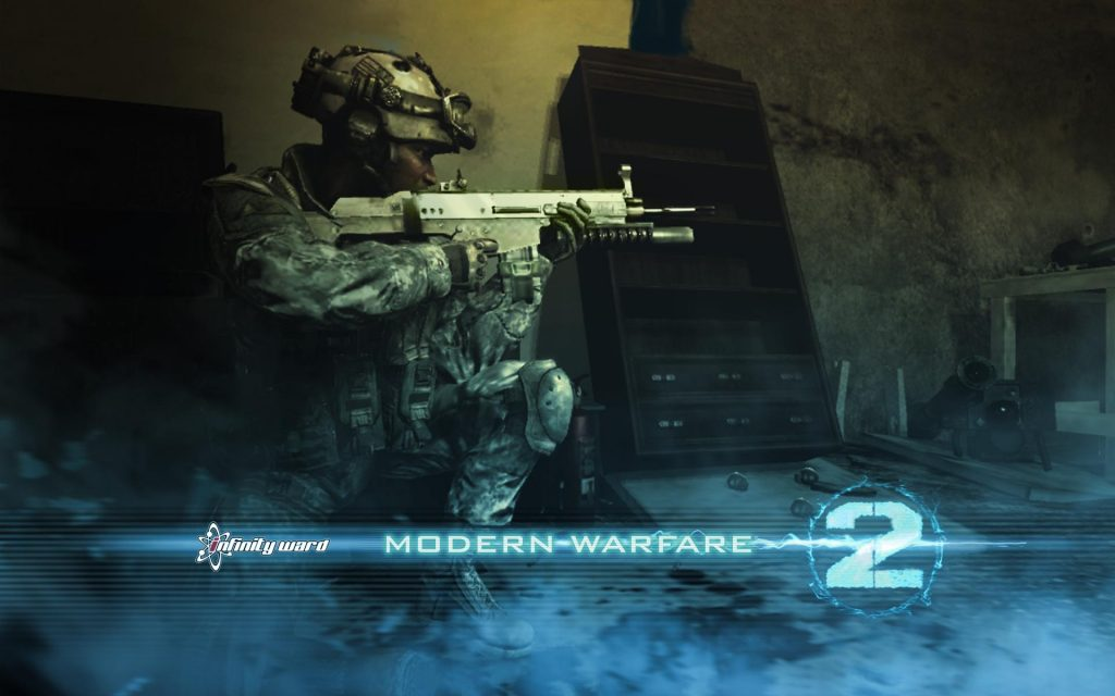 Call Of Duty 4: Modern Warfare Widescreen Wallpaper