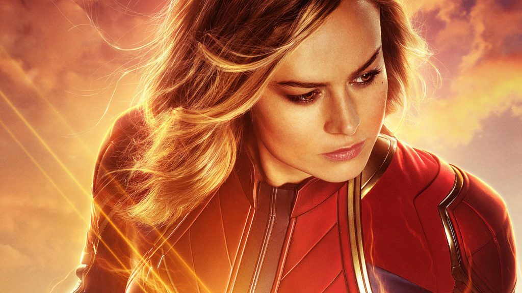 Captain Marvel Quad HD Wallpaper