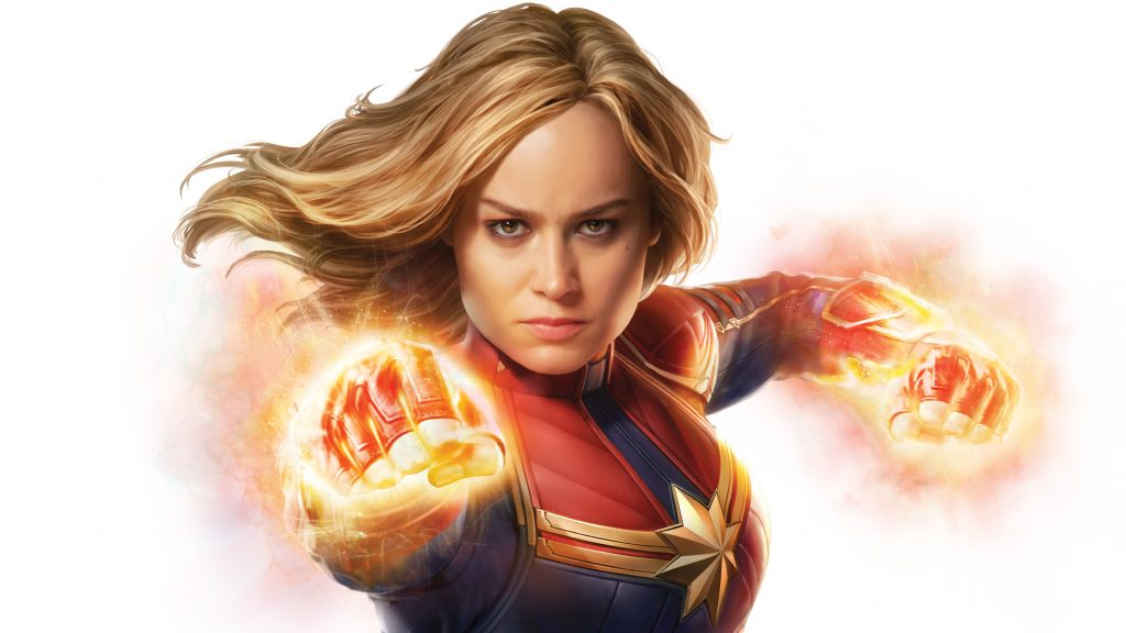 Captain Marvel Wallpaper