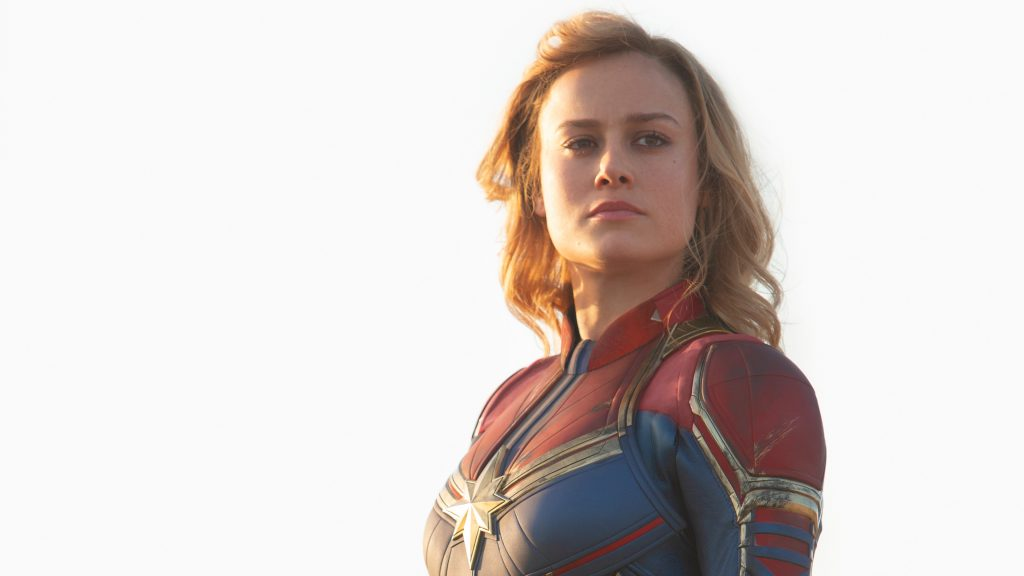 Captain Marvel 4K UHD Wallpaper