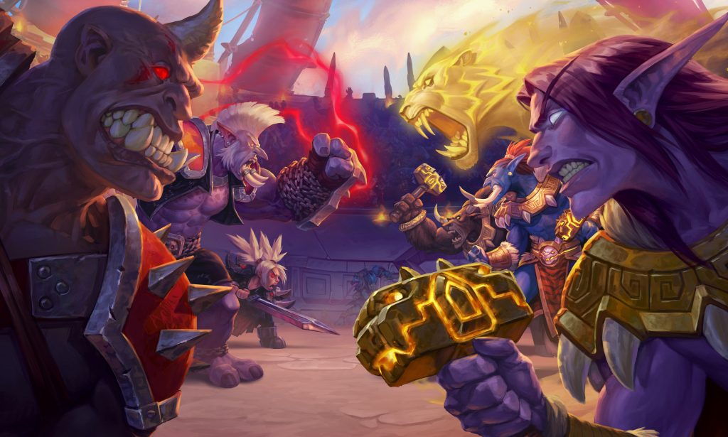 Hearthstone: Heroes Of Warcraft HD Background