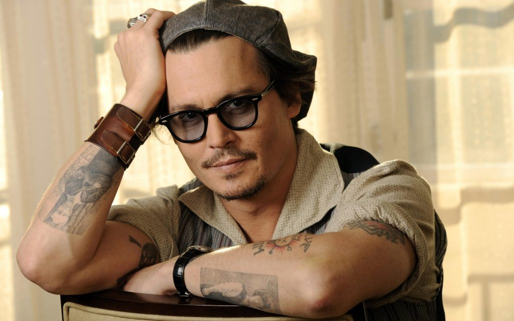 Johnny Depp Widescreen Wallpaper