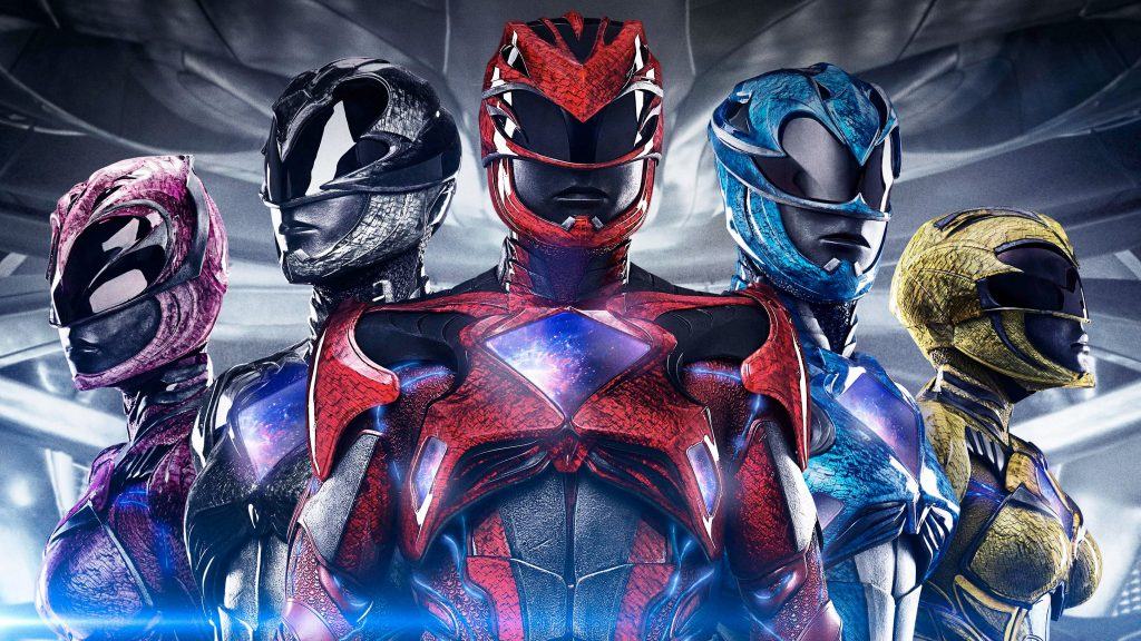 Power Rangers (2017) 5K HD Background