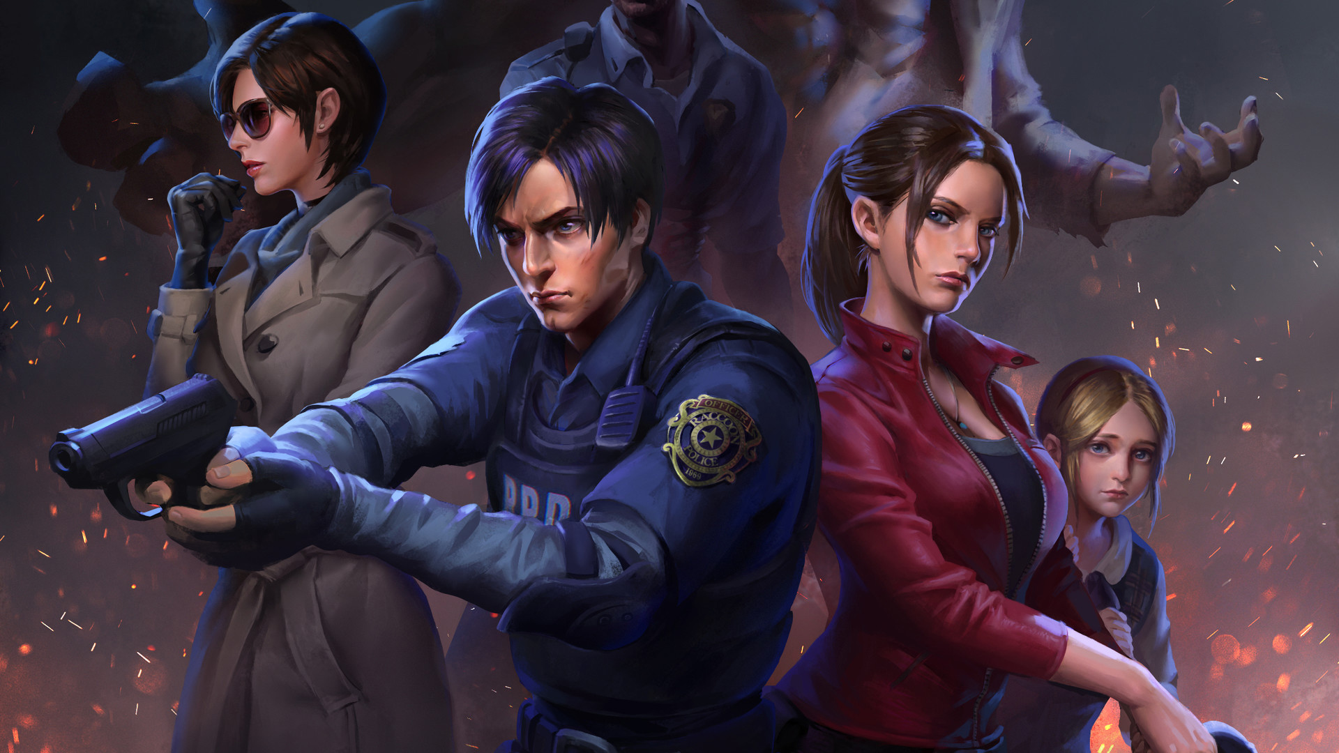 Resident Evil 2 2019 Wallpapers Pictures Images