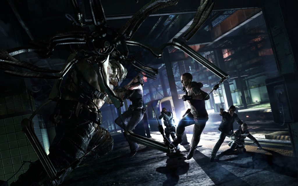 Resident Evil 6 Widescreen Background