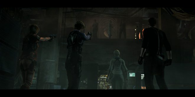 Resident Evil 6 Backgrounds
