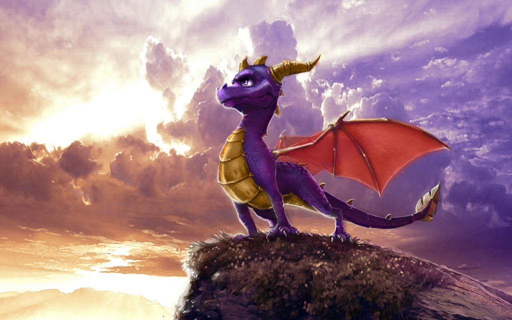 Spyro The Dragon Widescreen Background