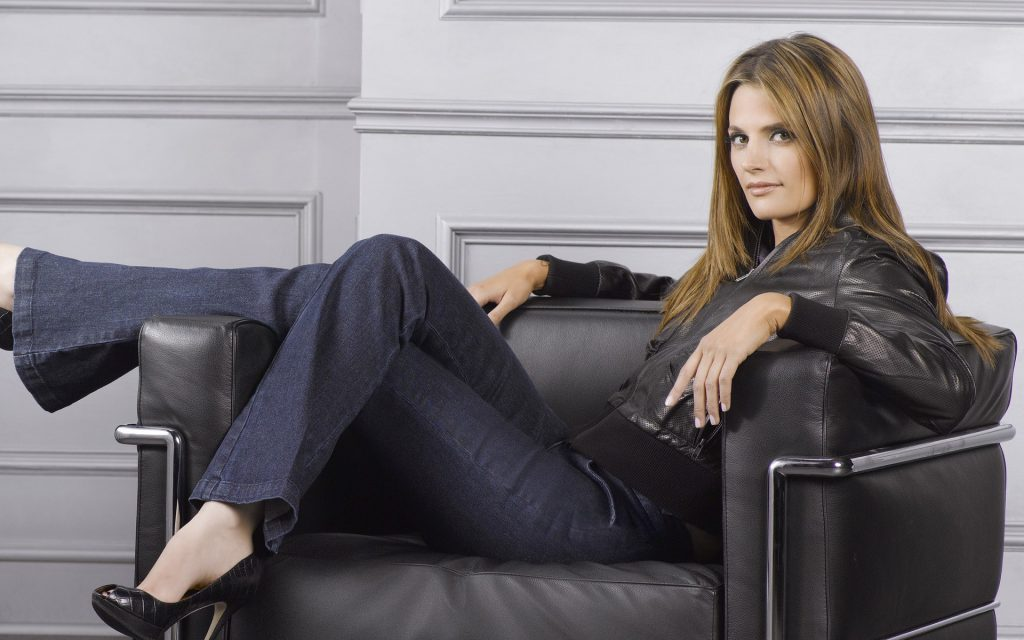 Stana Katic Widescreen Wallpaper