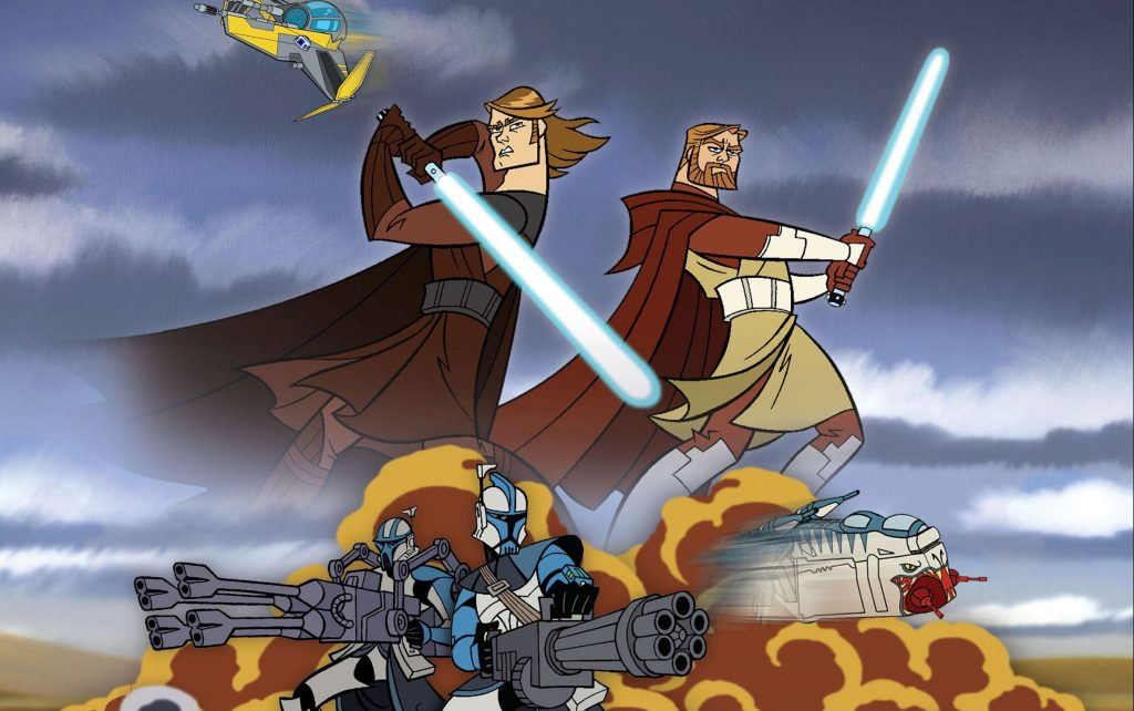 Star Wars: The Clone Wars Wallpaper