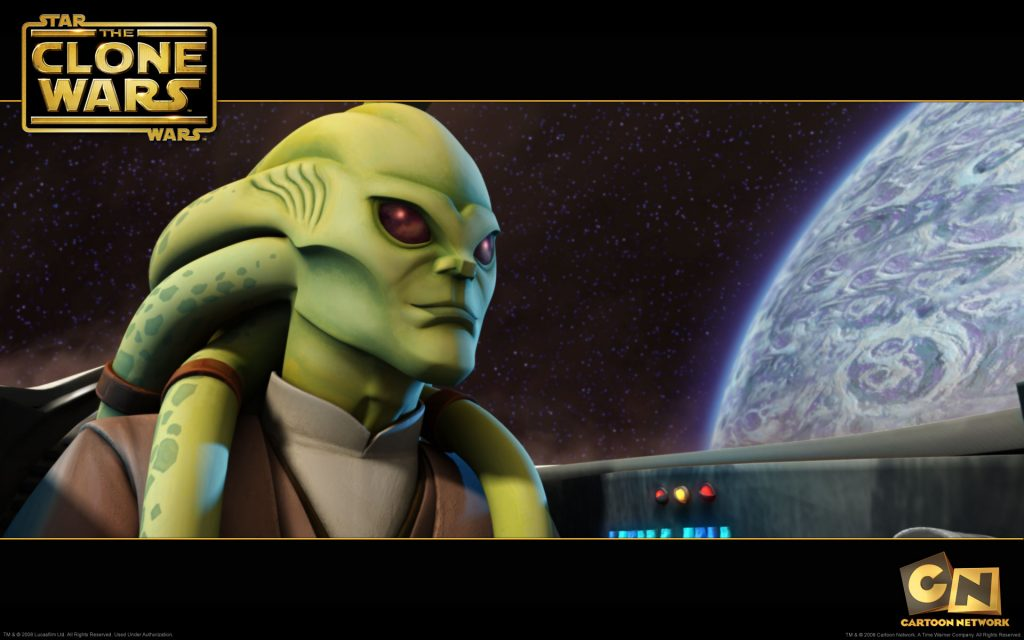 Star Wars: The Clone Wars Widescreen Wallpaper