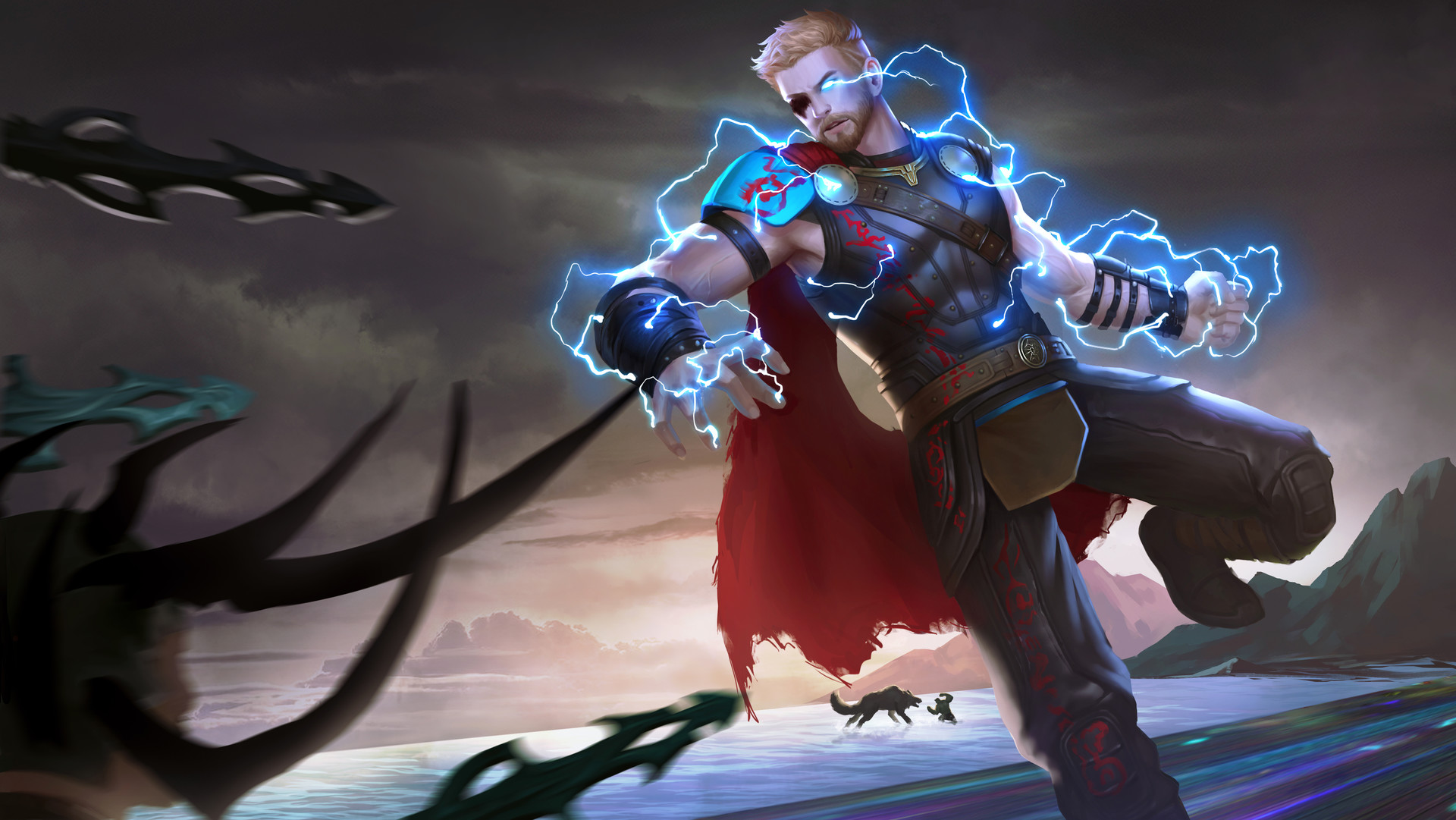 Thor ragnarok hd wallpapers pictures images - Thor art wallpaper ...