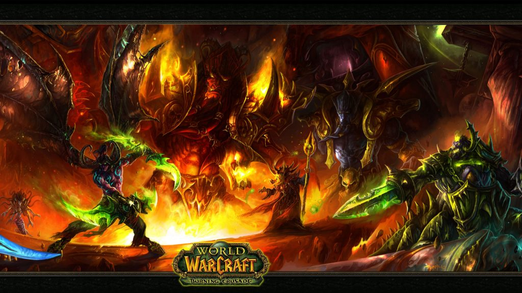 World Of Warcraft Full HD Background