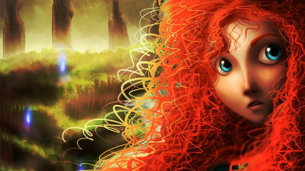 Brave Full HD Wallpaper
