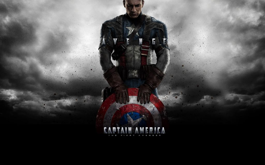 Captain America: The First Avenger Widescreen Background