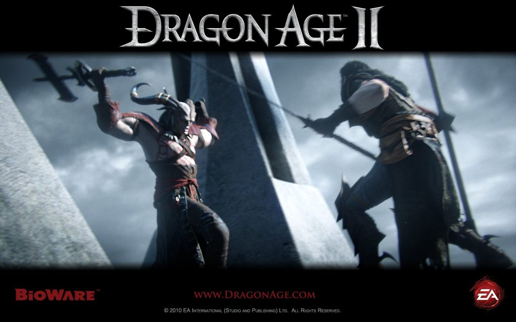 Dragon Age II Widescreen Background