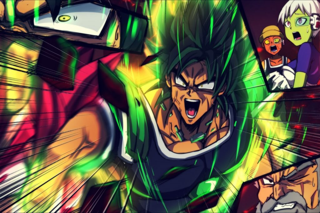 Dragon Ball Super: Broly Wallpaper