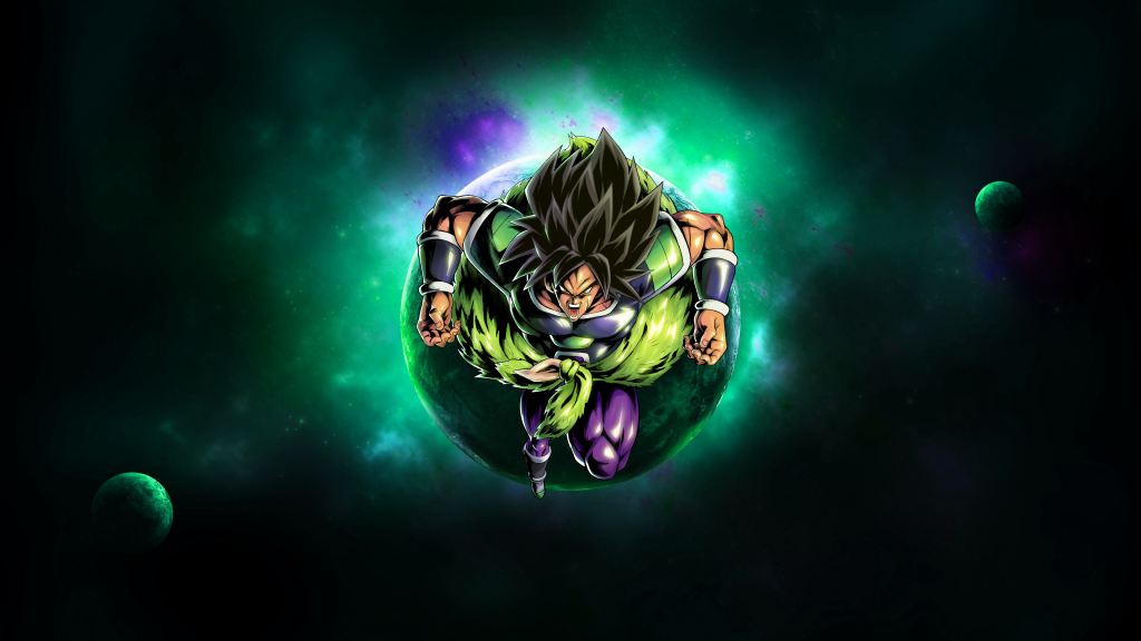 Dragon Ball Super: Broly 4K UHD Wallpaper