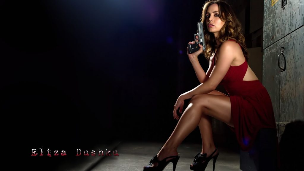 Eliza Dushku Full HD Wallpaper