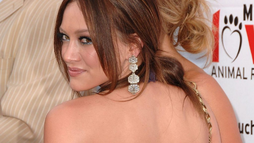 Hilary Duff HD Full HD Background