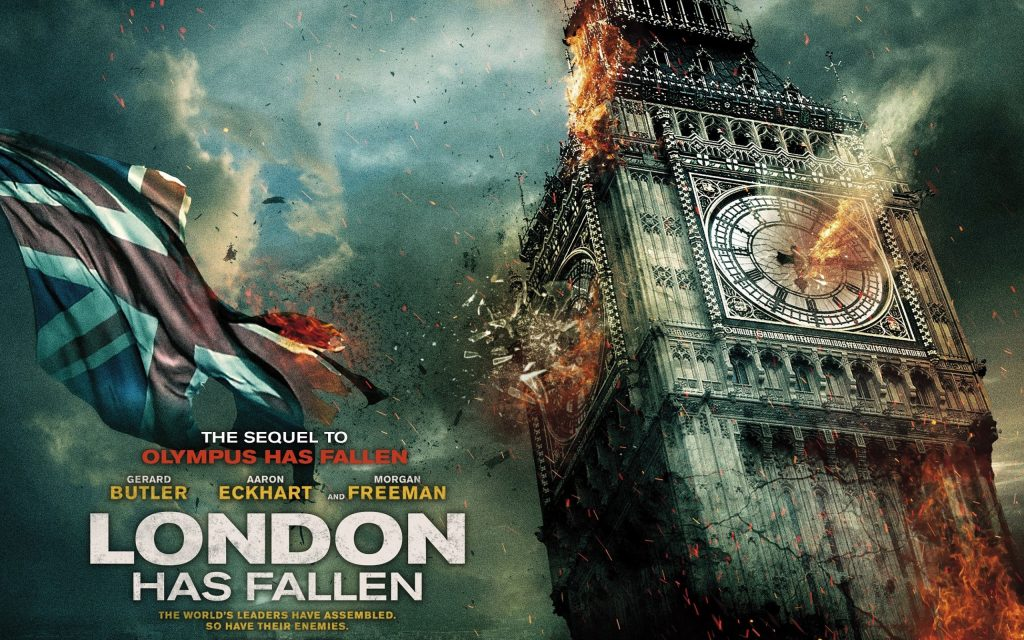 London Has Fallen Widescreen Background