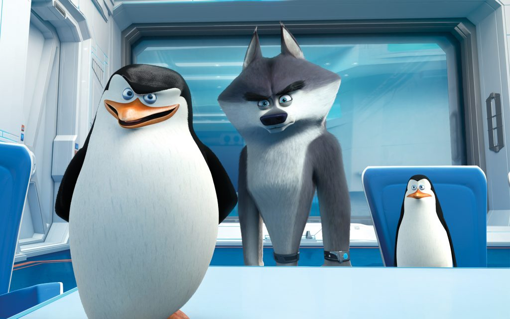 Penguins Of Madagascar Widescreen Background