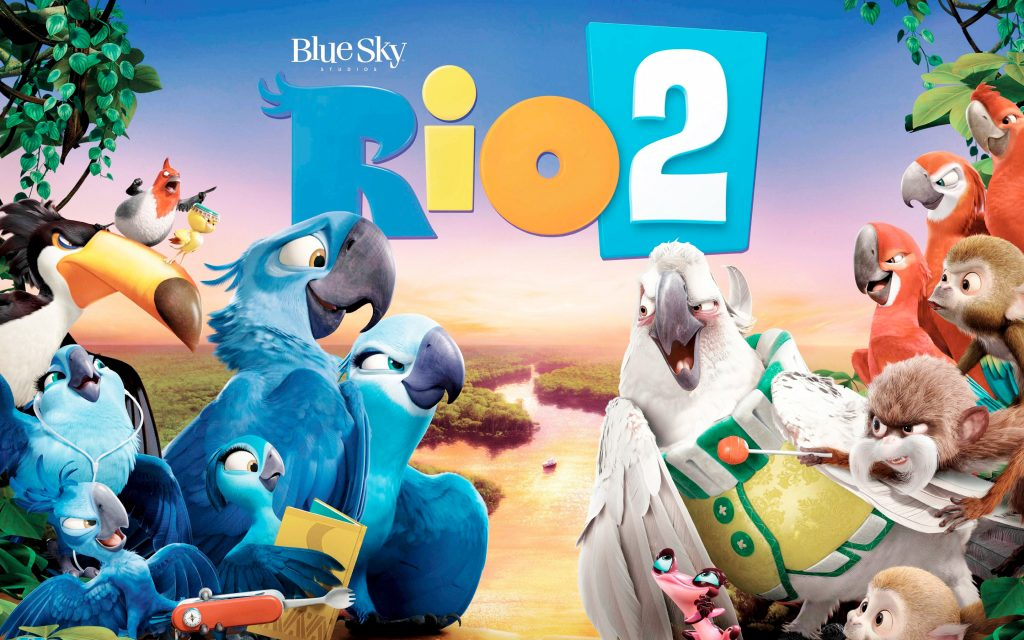 Rio 2 Widescreen Wallpaper