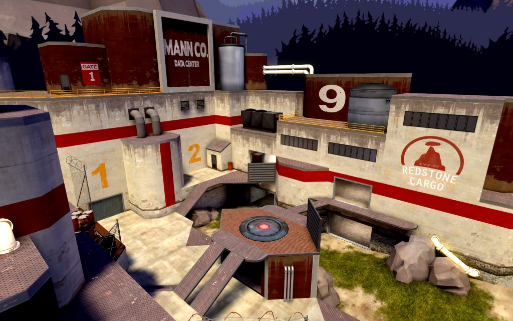 Team Fortress 2 Widescreen Background