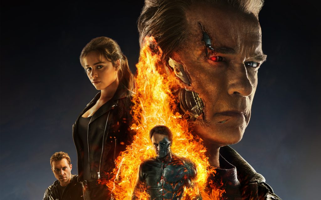 Terminator Genisys Widescreen Background