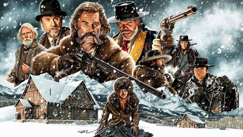 The Hateful Eight Full HD Background