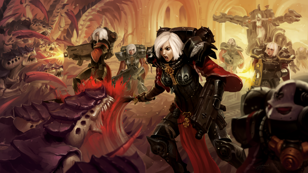Warhammer 40K HD 4K UHD Wallpaper