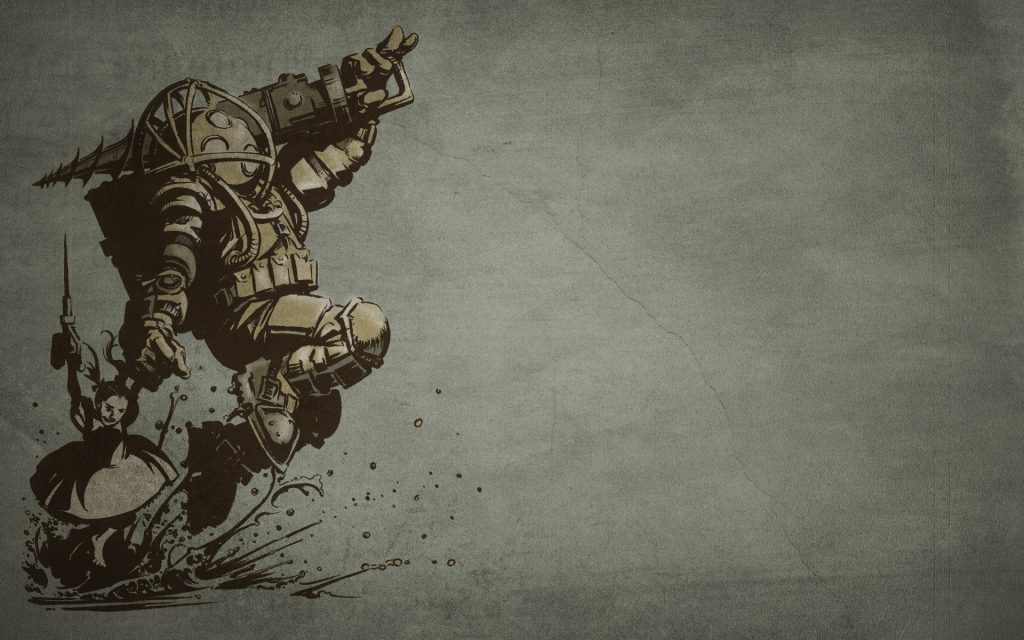 Bioshock Widescreen Wallpaper