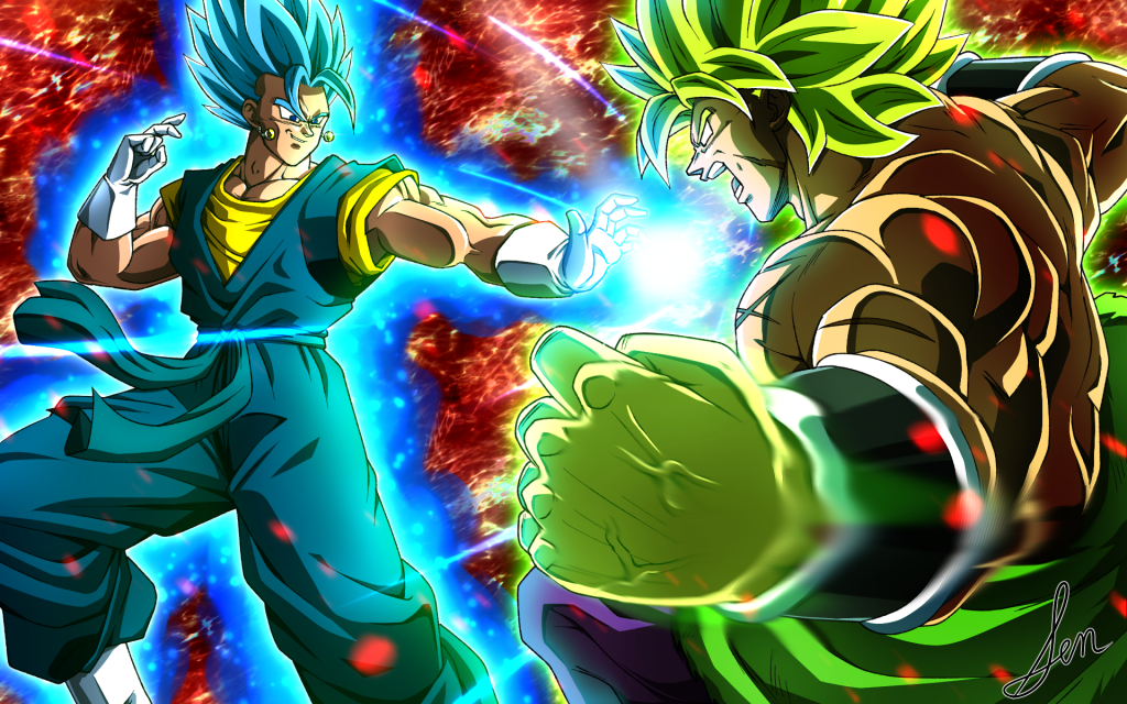 Dragon Ball Super: Broly Widescreen Background