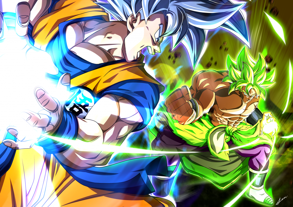 Dragon Ball Super: Broly Background