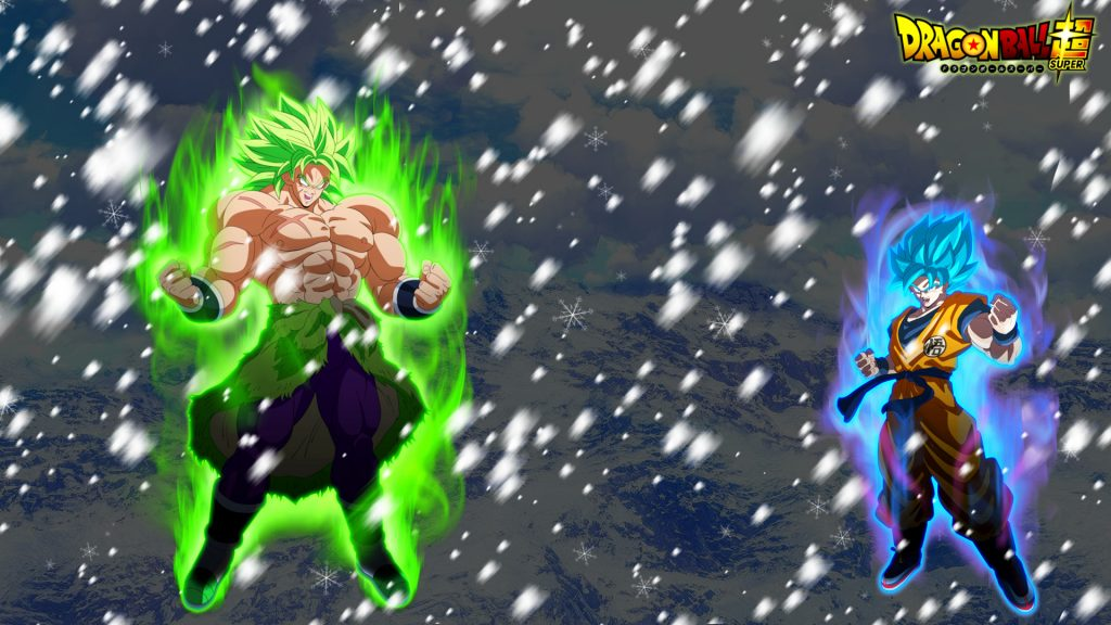 Dragon Ball Super: Broly Full HD Background