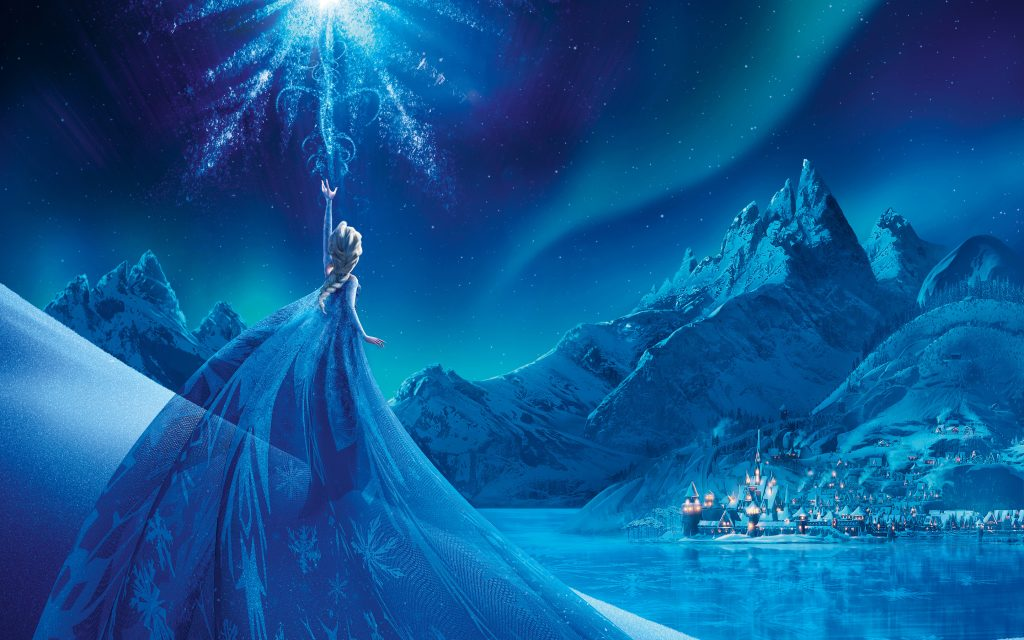 Frozen HD Widescreen Wallpaper