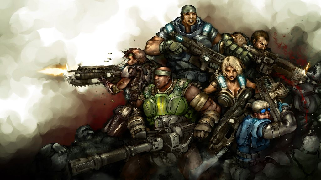 Gears Of War 3 Quad HD Background