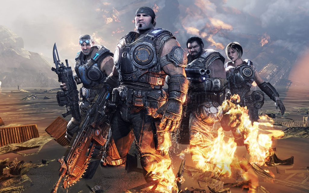 Gears Of War 3 Widescreen Background