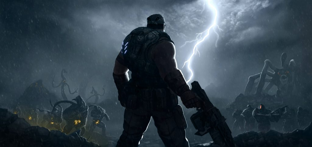 Gears Of War 3 Background
