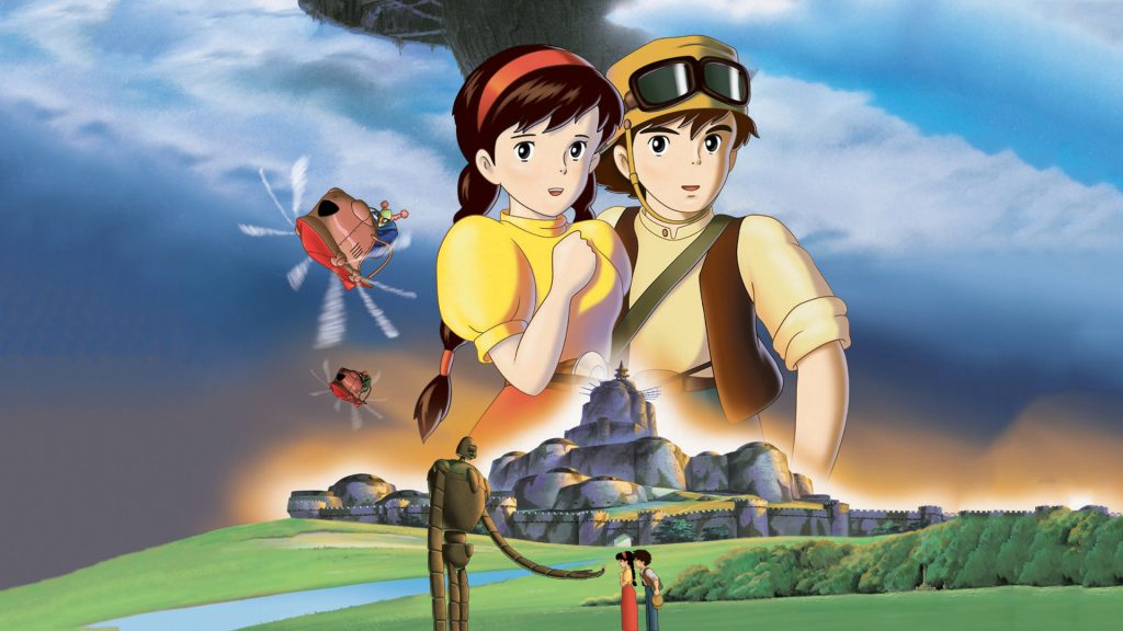 Laputa: Castle In The Sky Full HD Background