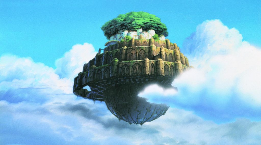 Laputa: Castle In The Sky Background