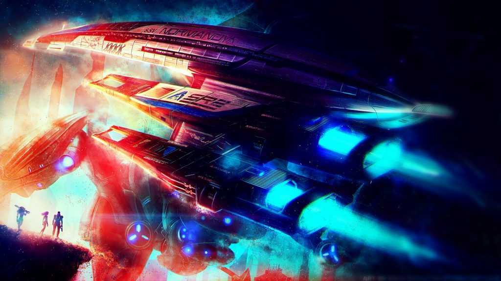 Mass Effect Quad HD Wallpaper