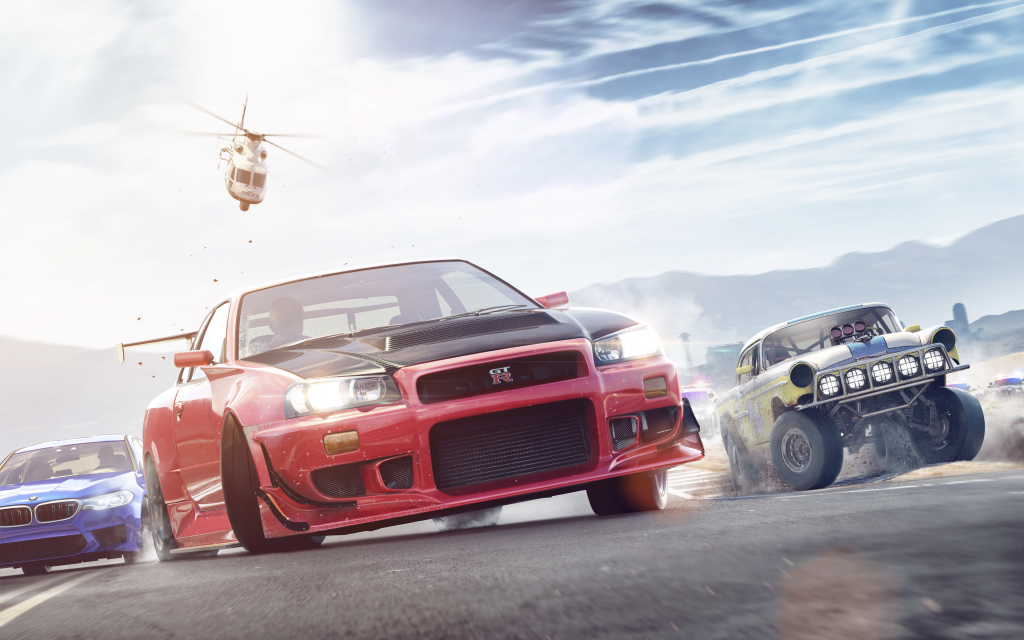 Need For Speed Payback 4K Ultra HD Wallpaper