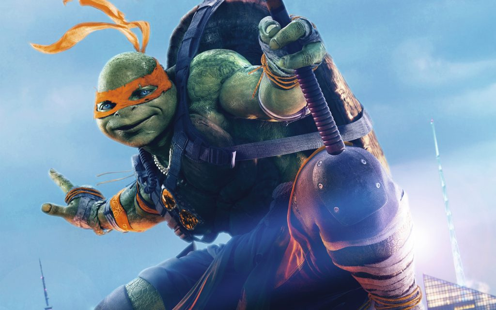 Teenage Mutant Ninja Turtles: Out Of The Shadows Widescreen Wallpaper