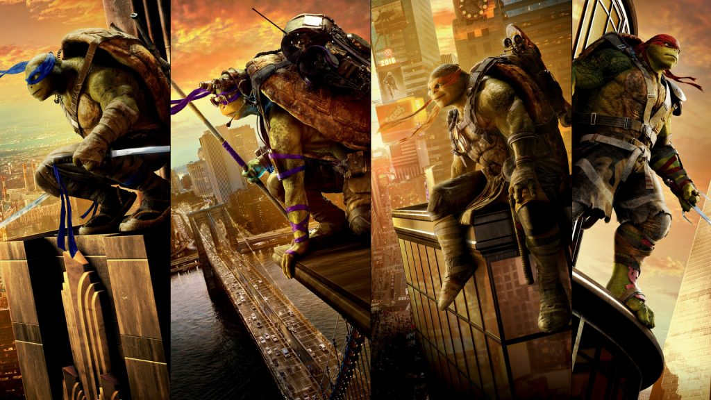 Teenage Mutant Ninja Turtles: Out Of The Shadows Full HD Wallpaper