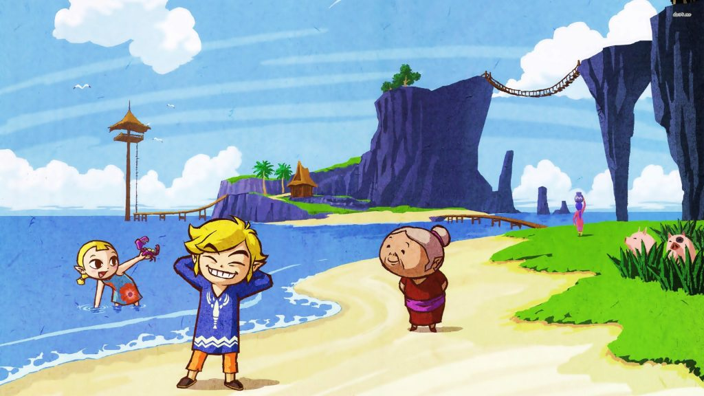 The Legend Of Zelda: The Wind Waker Quad HD Wallpaper