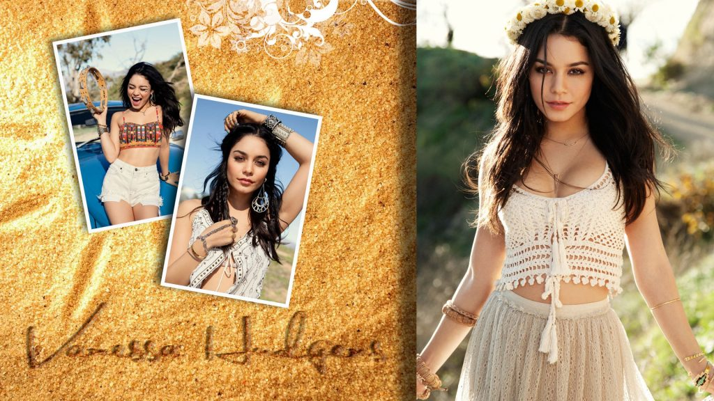 Vanessa Hudgens Full HD Background