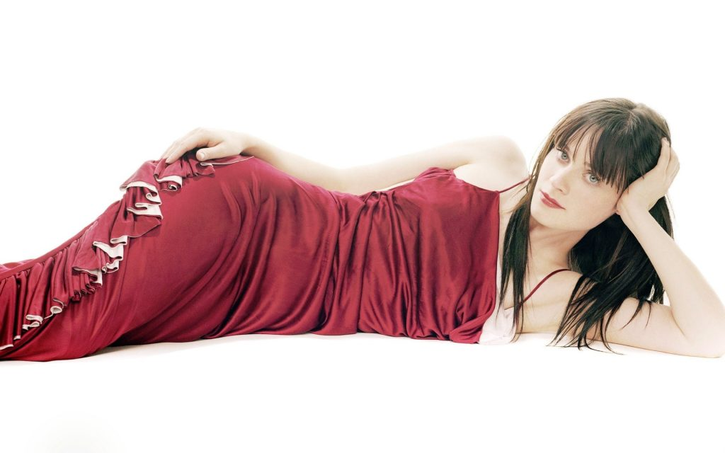 Zooey Deschanel Widescreen Background