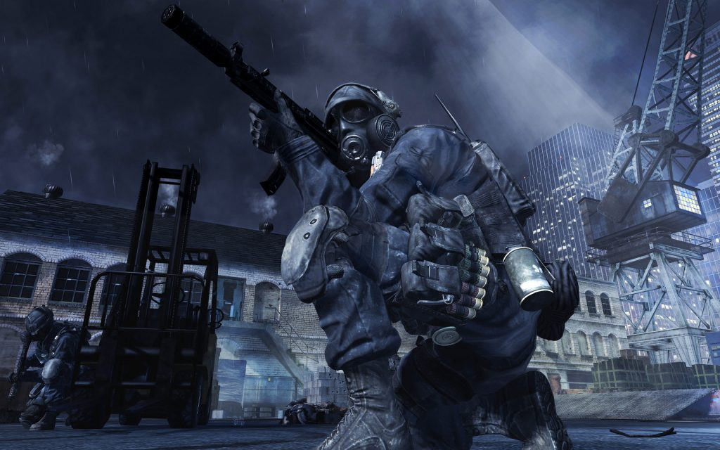 Call Of Duty Widescreen Background