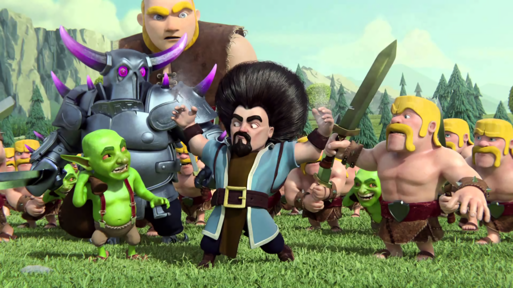 Clash Of Clans Full HD Background